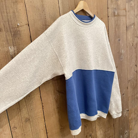 90's 20 SPORT Two-Tone Sweat Shirt