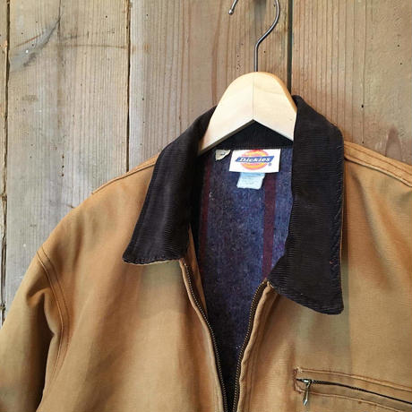 80's~ Dickies Blanket Lined Work Jacket