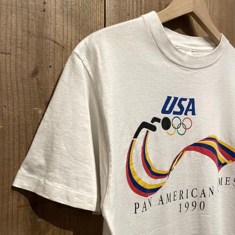 90's MILLER PAN AMERICAN HAMES Tee