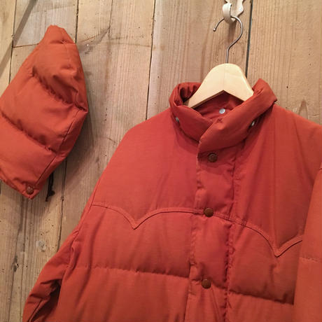 70's~ Schott Hooded Down Jacket