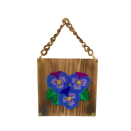 the fantasy wood bag -pansy-