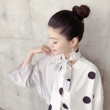 Sweet dot blouse