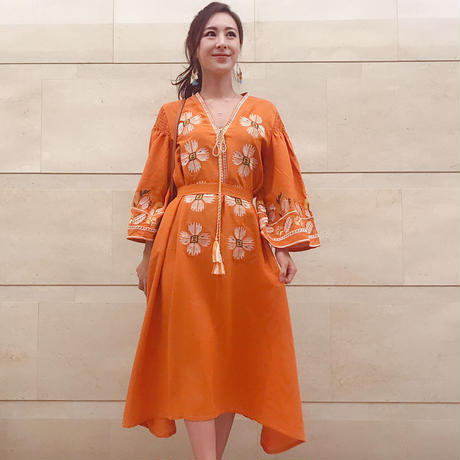 Orange stitch OP