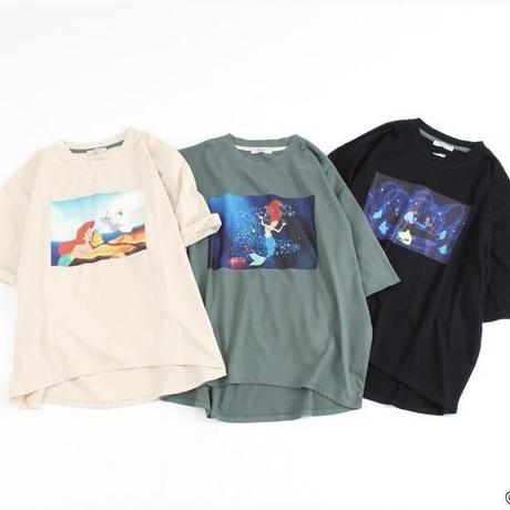 <The Little Mermaid> プリントTシャツ