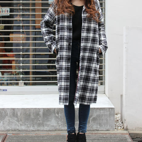 "FLANNEL CHECK SHOP COAT ""MUNCHEN"""