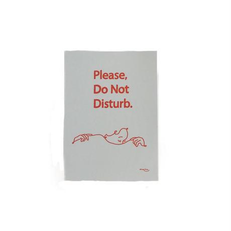 Do Not Disturb STICKER(Dusty Blue)