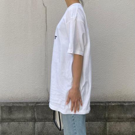 【XLサイズ】2サイズ展開ユニセックスパロディSL Tシャツ(ホワイト)