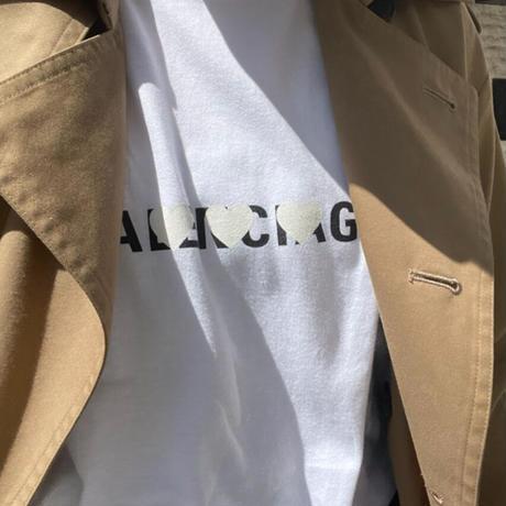 ユニセックスパロディ♡Tシャツ(S ホワイト)