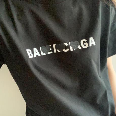 ユニセックスパロディ♡Tシャツ(S ブラック)