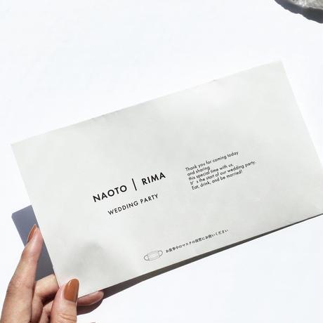 PAPER MASK CASE