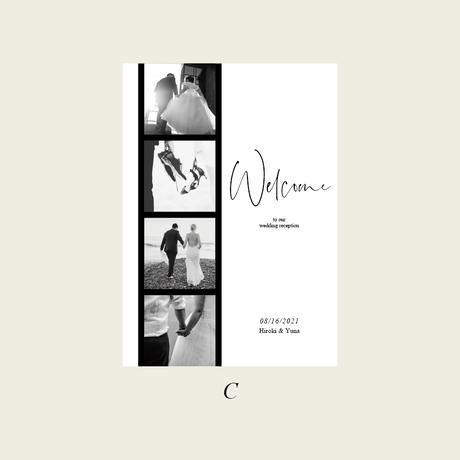 WELCOME BOARD / FILM