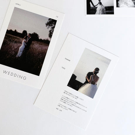 PROFILE CARD No.1 / 5 piece