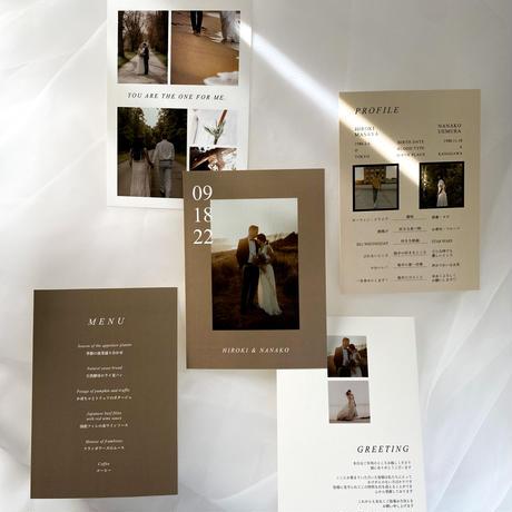 PROFILE CARD No.3  / 4 piece