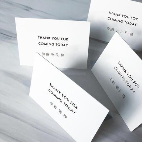 NAME CARD WHITE 03