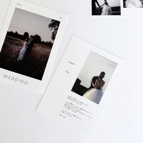 PROFILE CARD / 4 piece