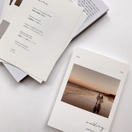 PROFILE CARD No.2 / 5 piece