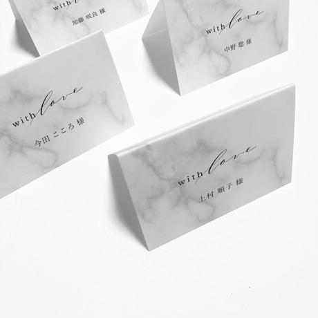 NAME CARD MARBLE 07