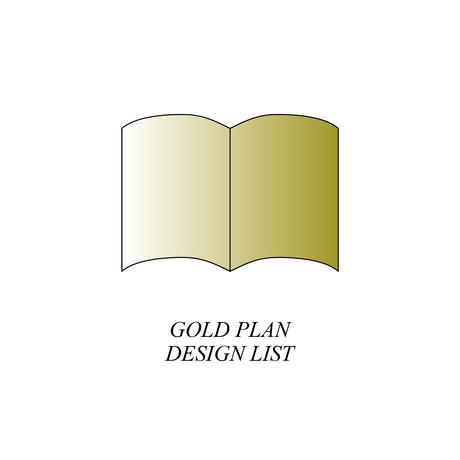 【プロフィールブック デザインLIST / 閲覧用】  ゴールドプラン