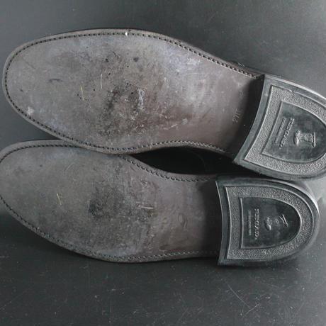 ★リーガル REGAL 27cm 特別価格★ 1点限り!黒 ブラック 外羽根 プレーントゥ ビジネスシューズ カジュアル スーツ 革靴 本革 革 靴