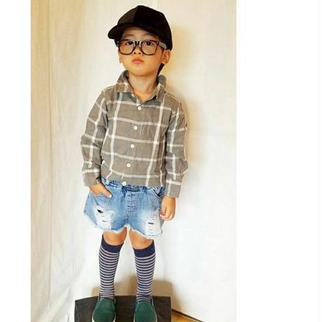 韓国子供服 ✭ デニムショートパンツ ✭
