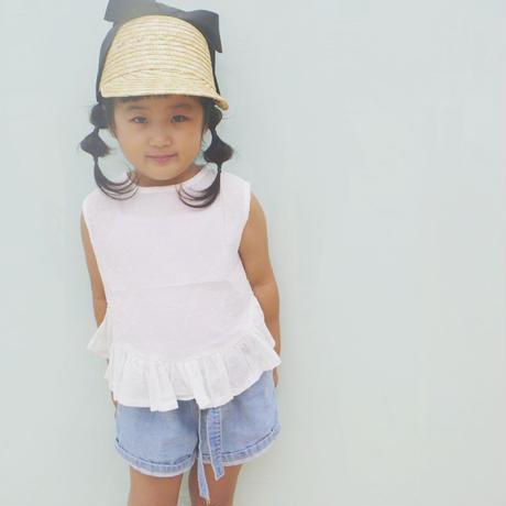 ❢❢SALE❢❢ 韓国子供服✭ ペプラムブラウス ✭
