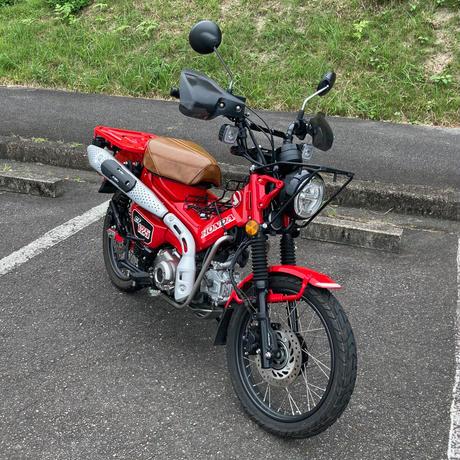 Goc-Series HONDA CT125・ハンターカブ オーバーカバー製品 Brown 6213