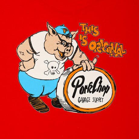 PORKCHOP - THIS IS ORIGINAL TEE (RED)