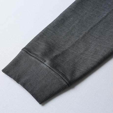 LIBERAIDERS - 3D SEAM CREWNECK (BLACK)