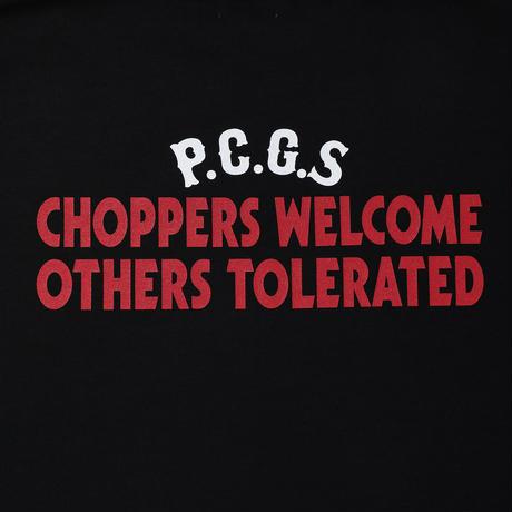 PORKCHOP - CHOPPERS WELCOME SWEAT (BLACK)