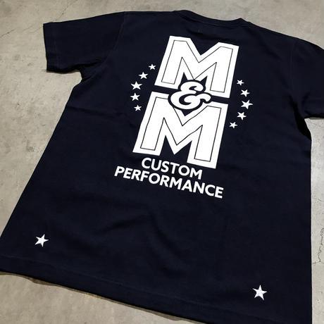 M&M - PRINT S/S TEE MT-023 (NAVY)