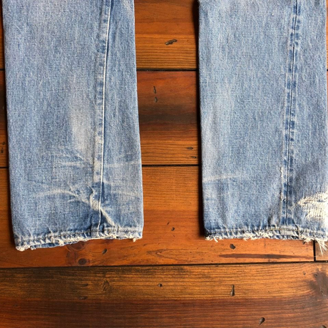 BLUE SAKURA - TCB × BLUE SAKURA Collaboration Jeans