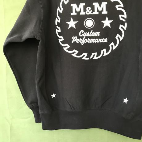 M&M - HEAVY PARKA MSW-002 (BLACK)