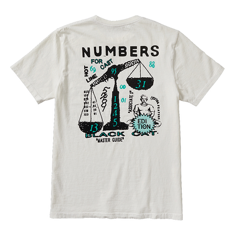 NUMBERS edition - SCALES - S/S T-SHIRT