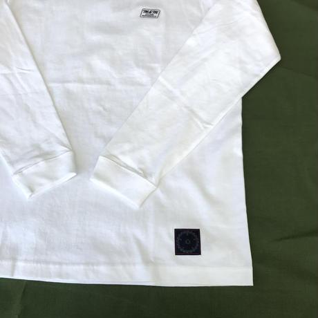 M&M - PRINT L/S TEE 20-MT-027 (WHITE)