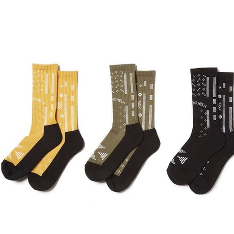 CAPTAINS HELM - BANDANA SOCKS