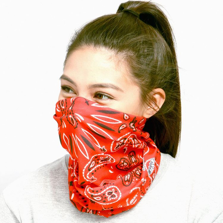 COOKMAN - Chef's Scarf 「Paisley」 Red