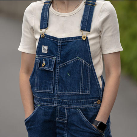 TCB JEANS - BLACK CAT OVERALL