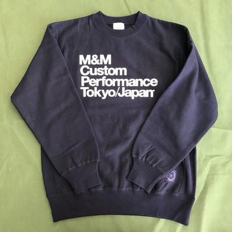 M&M - PRINT SWEAT (NAVY)