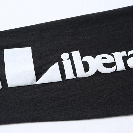 LIBERAIDERS - TRIANGLE LOGO L/S TEE (BLACK)