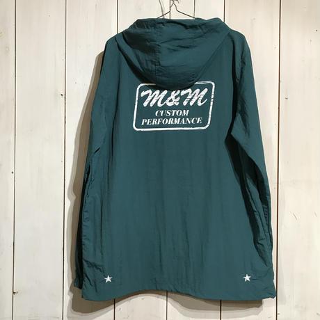 M&M - NYLON ANORAK PARKA (ANTIQUE GREEN)