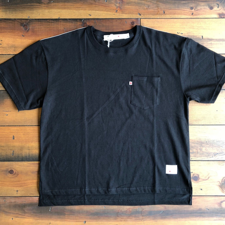 BLUE SAKURA - BIG T-SHIRT【BLACK】/ BS-BCS1