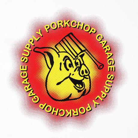 PORKCHOP - OLD PORK L/S TEE (WHITE)