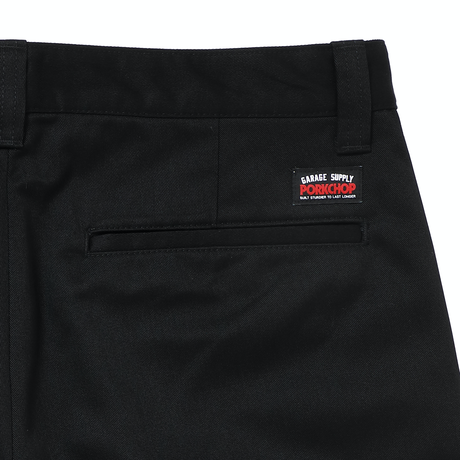 PORKCHOP - STANDARD WOK PANTS (BLACK)