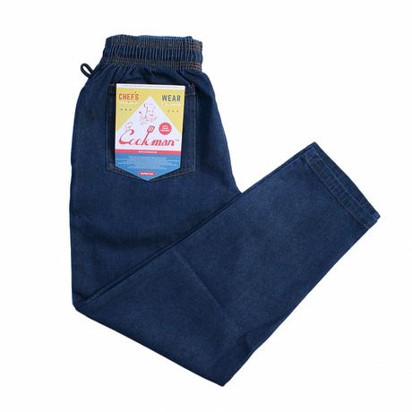 COOKMAN - Chef Pants 「デニム」ブルー