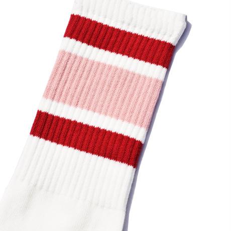 SURF SKATE CAMP - Tube socks (Red)