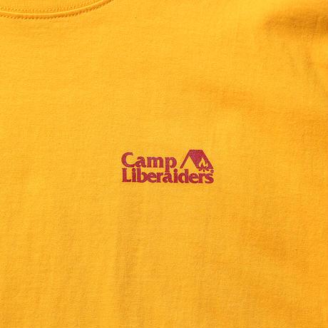 LIBERAIDERS - CAMP LIBERAIDERS TEE (YELLOW)