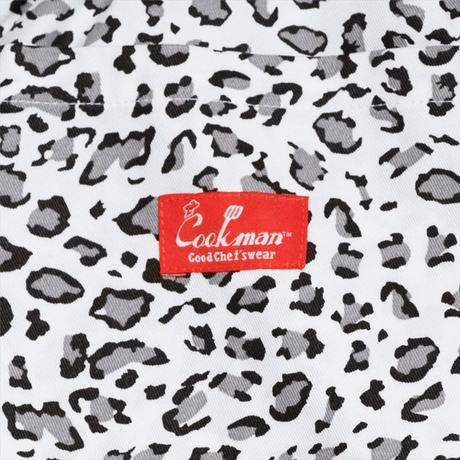 COOKMAN - Chef Pants「Snow Leopard」