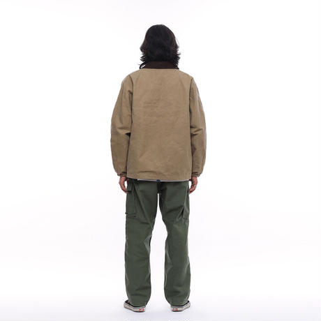 LIBERAIDERS - CANVAS HUNTING JACKET (BEIGE)