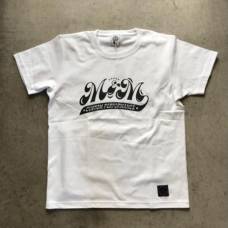 M&M - PRINT S/S TEE MT-021 (WHITE)