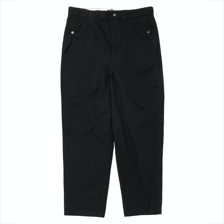 PORKCHOP - LOOSE FIT CHINO PANTS (BLACK)